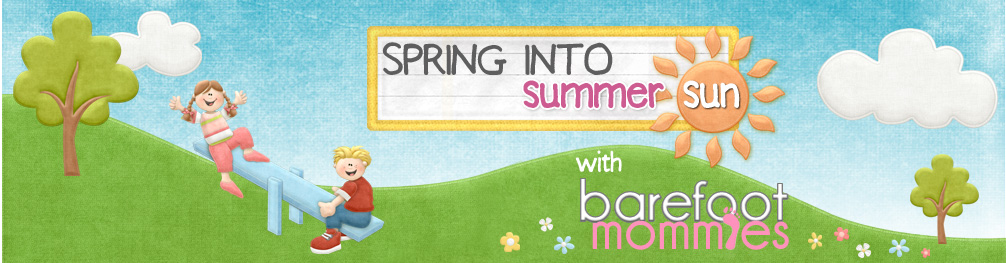 Barefoot Mommies Spring into Summer Header