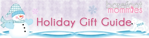 Barefoot Mommies Holiday Gift Guide Header