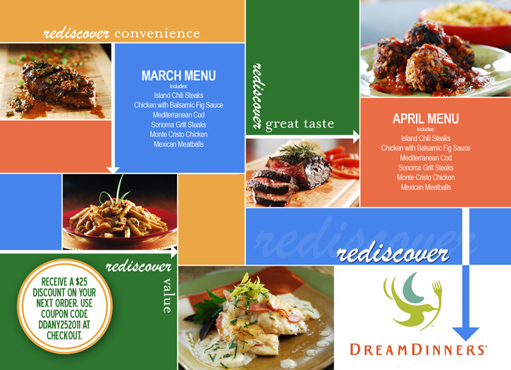 Postcard - Woodlake Dream Dinners