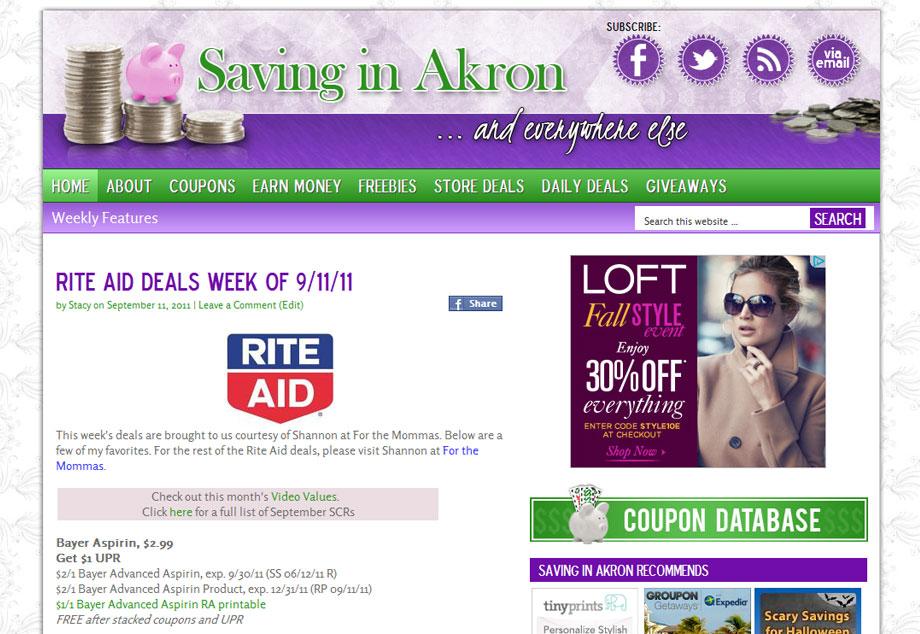 www.savinginakron.com
